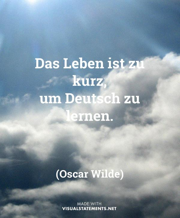 dw deutsch lernen on twitter was meint ihr hatte oscar wilde recht deutschlernen http t. Black Bedroom Furniture Sets. Home Design Ideas