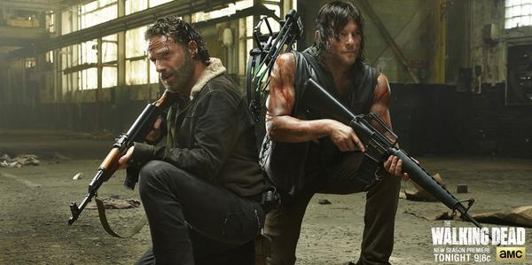 The battle begins tonight at 9|8c. #TheWalkingDead http://t.co/csLIjb5HUq