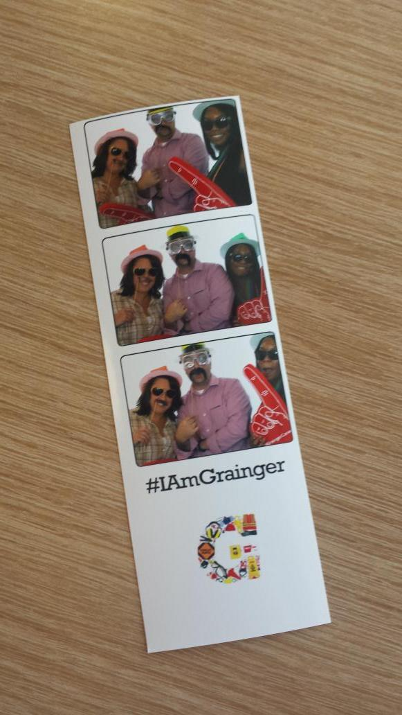 Work photo booth? Why not... ;) #IAmGrainger http://t.co/eV24DSEhqO