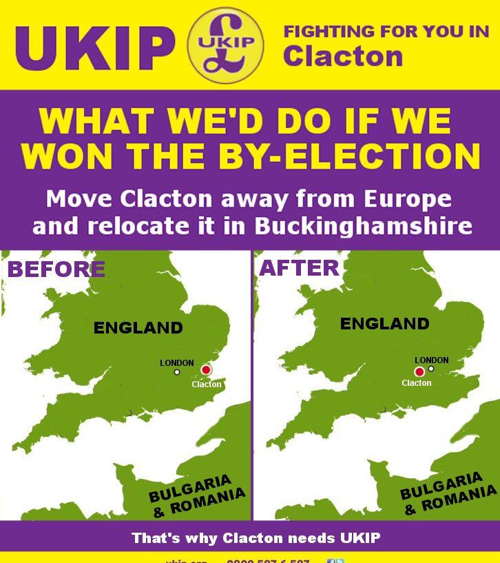 UKIP making promises they can't fulfil in Clacton (ta @Ross_Owen) http://t.co/fKFrrRMjHS