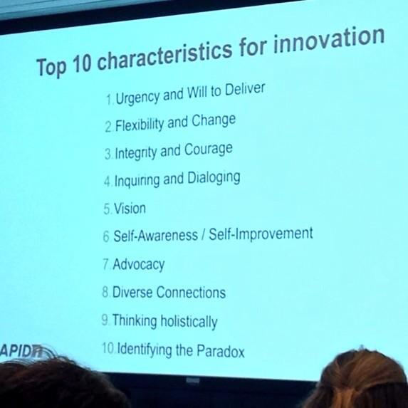 Master #ProdInno with these top 10 innovation characteristics by @bladek http://t.co/CpZngpuXH1