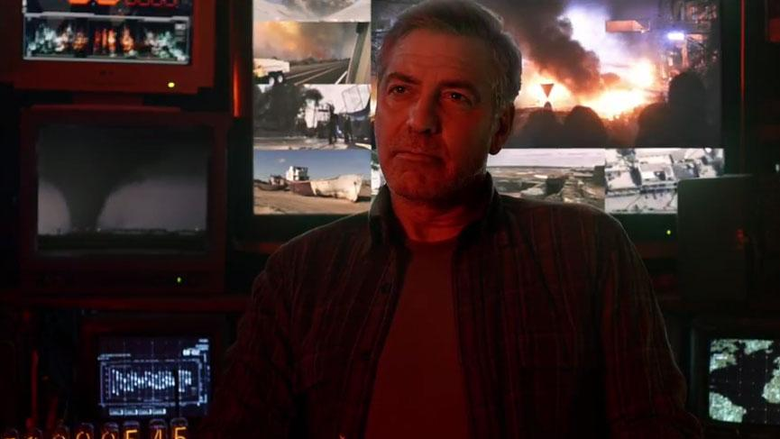 George Clooney Tomorrowland visit ComicCon New York in October Bzhn818CQAARFip
