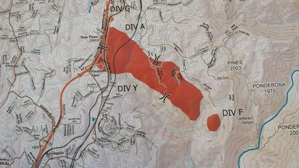 Placer County Fire Map.Cal Fire Pio On Twitter Map Of The 420 Acre Applegatefire In