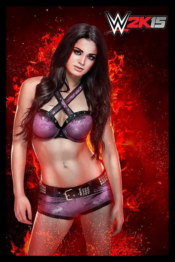 WWE 2k15 Diva Paige