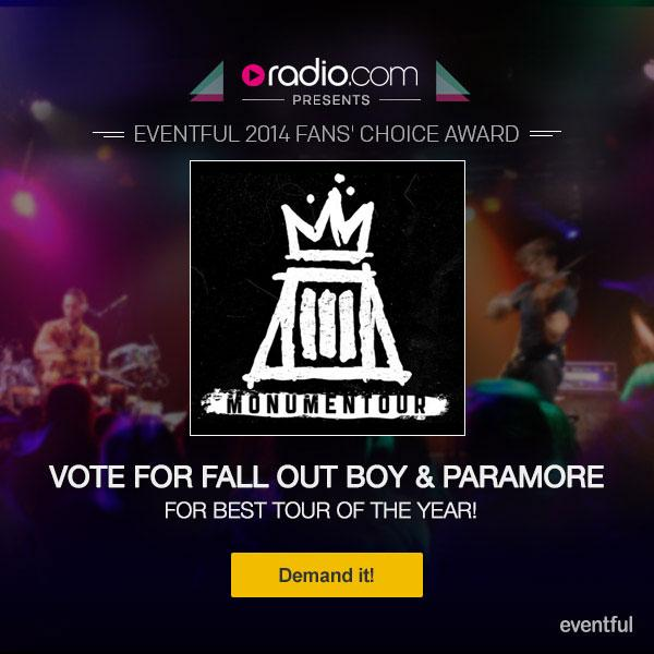 Paramore RK Life: VOTE: For Paramore and Fall Out Boy's ...