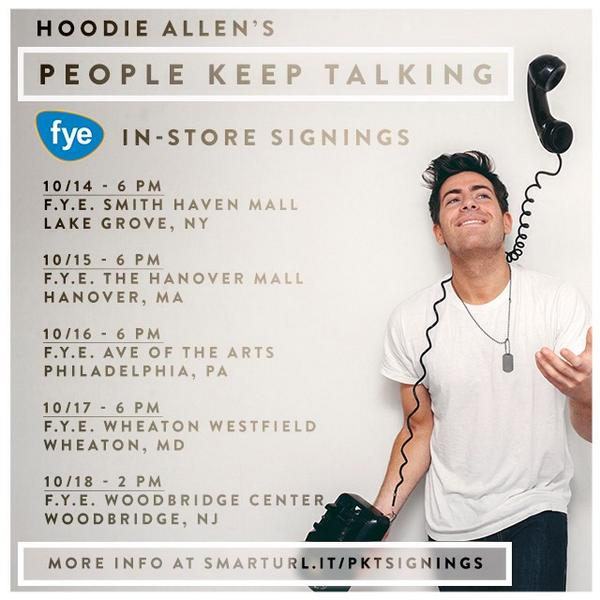 Hoodie allen on twitter ill be taking pictures with all fans and hoodie allen on twitter ill be taking pictures with all fans and signing cds mark your calendars i want to meet all of you and celebrate m4hsunfo