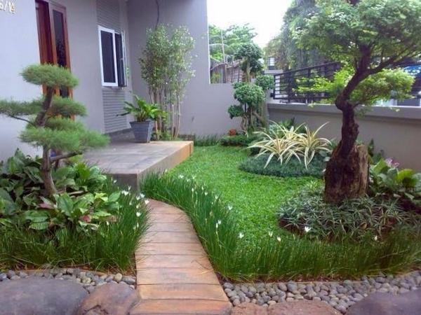 """The Arsitektur on Twitter: """"Desain taman minimalis untuk rumah #"""