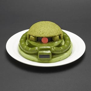 「よくもジーンを!」、バンダイ、「量産型ザクケーキセット」発売ザクのやられシーンの絵皿と、ケーキを切れるビーム・サーベル串が付属 #ザク #ガンダム bit.ly/1sqSGNi pic.twitter.com/OFWDKljhso