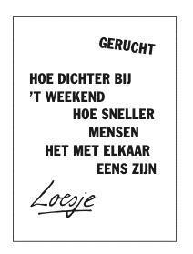 loesje spreuken weekend Loesje v/d Posters on Twitter: