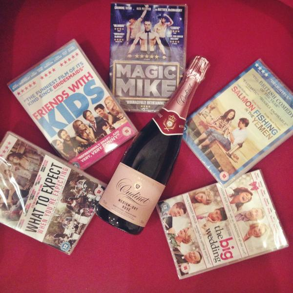 It's #FreebieFriday! RT & Follow @hellomag to #win DVDs & a bottle of champagne http://t.co/TqQ0Auwh0j  #TheRewrite http://t.co/gtyoZ2AoJ6