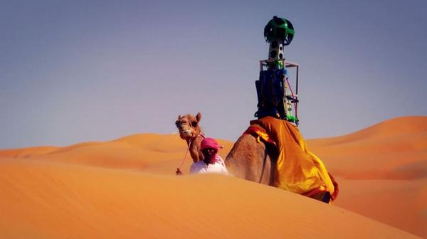 Google Street View lets you check out the Liwa Desert thanks to an intrepid camel: http://t.co/WwpY9RFq3M http://t.co/3NYjf7vyYO