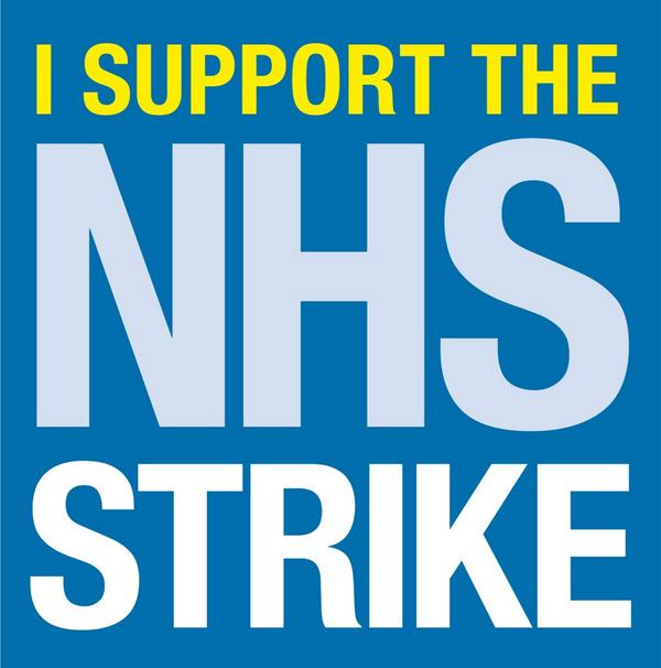 Please retweet if you're supporting NHS workers. Good luck @GMBNHS @UniteinHealth @UNISONOurNHS @MidwivesRCM http://t.co/W4RBQ7RJLz