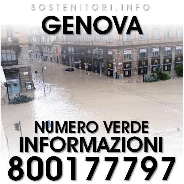 Thumbnail for Alluvione Genova 10 ottobre