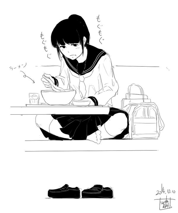 Tweet Jc目撃画集本当にいた女子中学生のイラスト2014 Naver