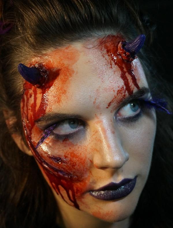 Trauma fx halloween tfxhalloween twitter amazing do it yourself halloween make up httptraumafxshopproductdevil horns purple picitterztszwf9ssh solutioingenieria Image collections