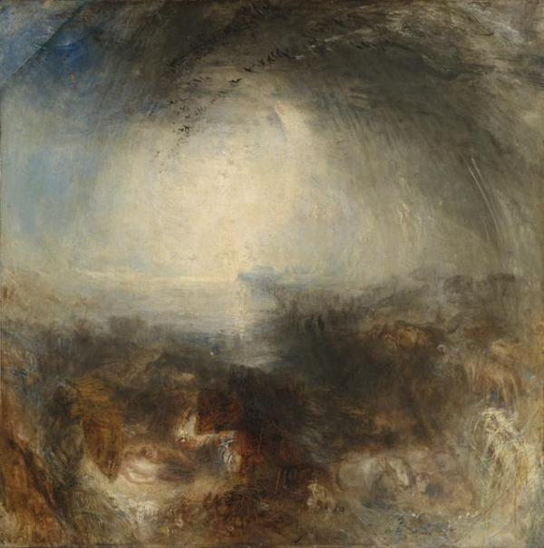 With dark and ominous clouds ahead, who could inspire today's #Tateweather but J.M.W Turner http://t.co/ZeYG5b3H8p http://t.co/49oZQP6tZ4