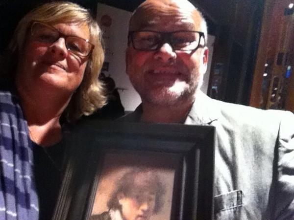 Zwei Kunsthistoriker und #myrembrandt #vsp14 cc @cogries http://t.co/rnHcgHWn23