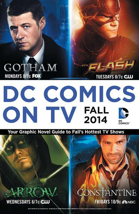 #NYCComicCon this weekend! To celebrate, today's BONUS Free Fridays eBook is DC COMICS ON TV: http://t.co/XQwj6M9Oue http://t.co/SwefqMXBIp
