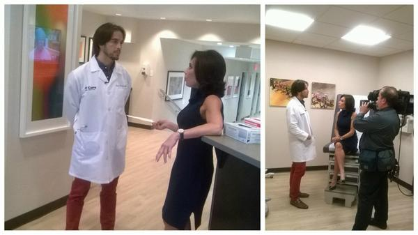 """Tunein! """"@JudgeJeanine: Earlier at @CureUrgentCare in NYC w/ @DrJakeDeutsch. Interesting things to share tmrw night  http://t.co/RFVRT3psyw"""""""