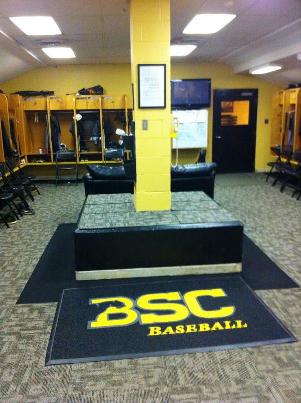 BSC Baseball On Twitter New Carpet Project In Locker Room Almost Finished Yeahpanthers Tco WzyjlFnSK2