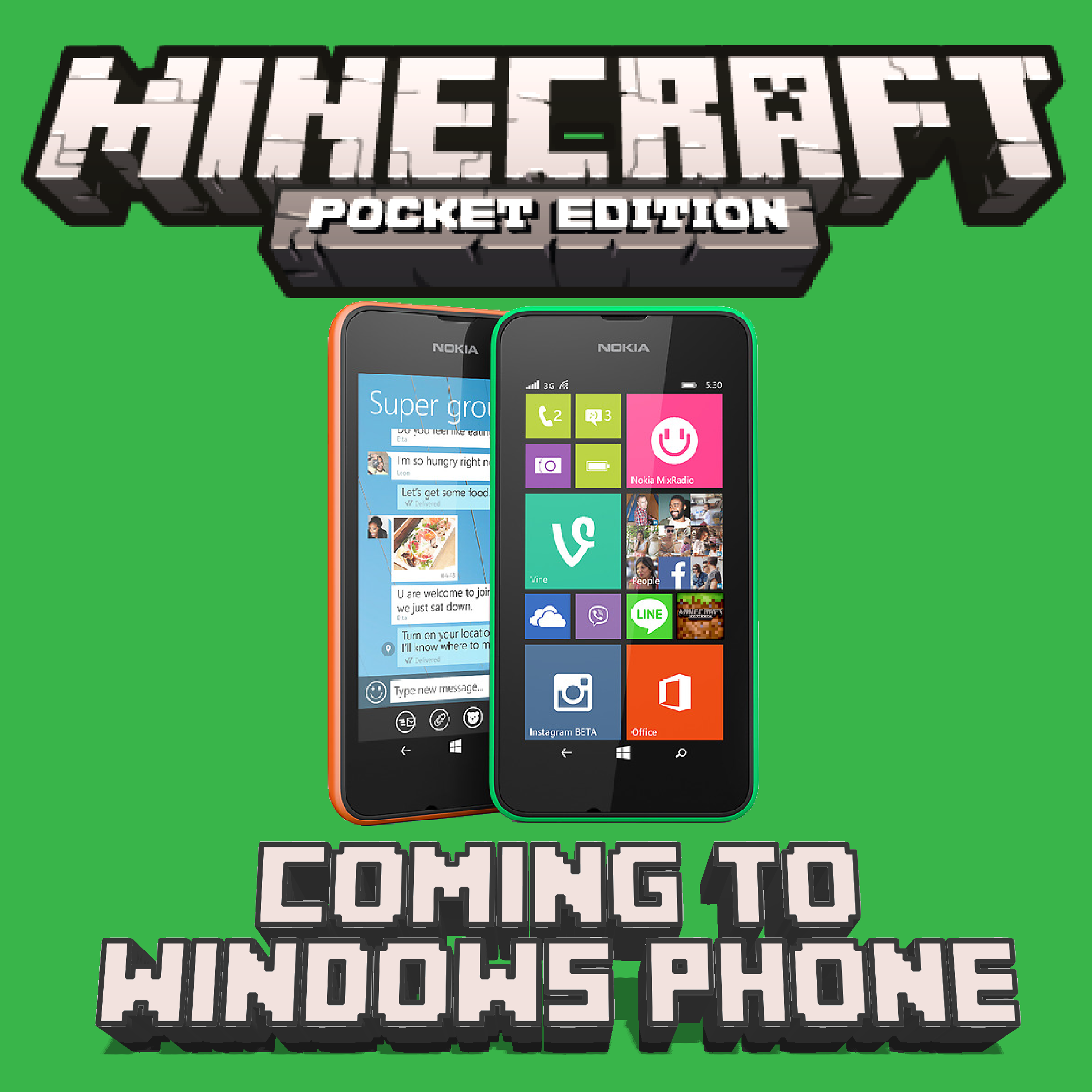 Как скачать Minecraft Pocket Edition на Windows Phone 8.1