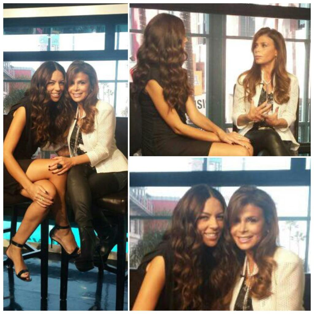 Gr8 time w/ my good friend @TerriSeymour #ExtraTV about #checkyourself #AvonFoundation.Congrats on your excitng news! http://t.co/iuP5n3S16D