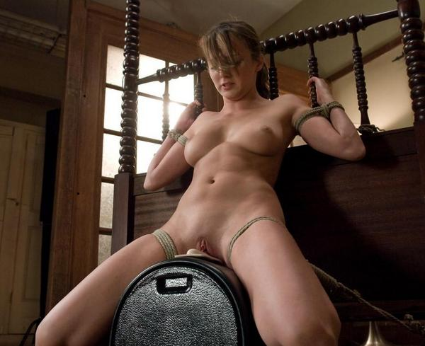 Forced multiple orgasm bondage