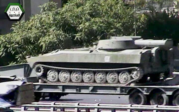 راجمات BM-30 Smerch في سوريا  BzpN9X0IYAEbHYL