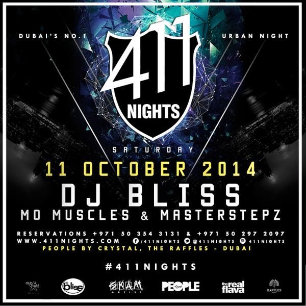 Tonight join @DJBLISS @masterstepz and @MoMuscles at  @411nights. #Award #winning #hiphop #RNB @PeoplebyCrystal http://t.co/aRxYqY3JVF