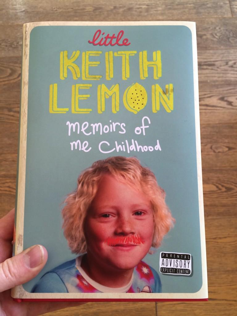 The cover to my prequel of Being Keith. My new book Little Keith Lemon. For adults only! http://t.co/zCdBQczSk5