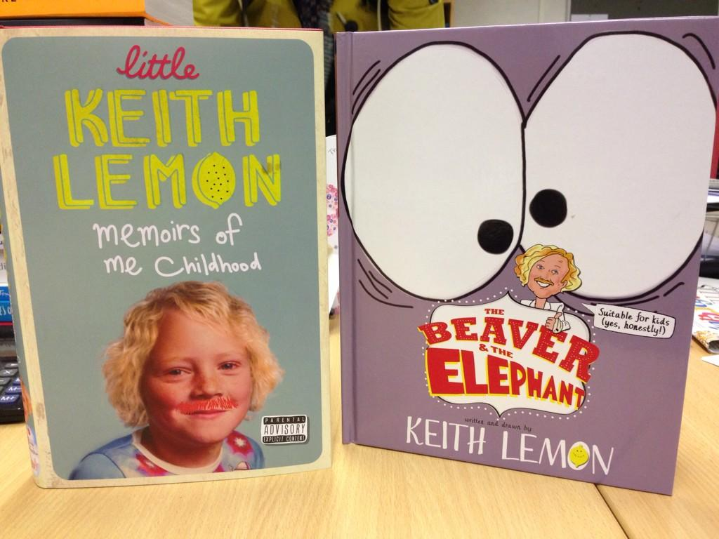 RT @the_orionstar: Ooh look what just arrived...A double whammy of @lemontwittor goodies! But only 1 is for children! #LemonBooks http://t.…