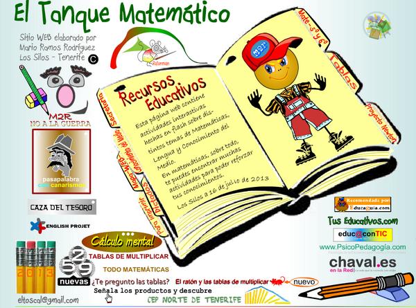 ¡ponte las pilas con las mates! juega con el tanque matemático (5º y 6º EP)  http://t.co/DDjszW0rV8 #ayudaalestudio http://t.co/gQrjwiQZqV