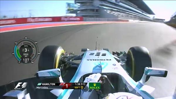 VIDEO: Watch the full onboard pole lap of Hamilton from @MercedesAMGF1 in #Qualifying on the #F1App http://t.co/EZKuprWZSF