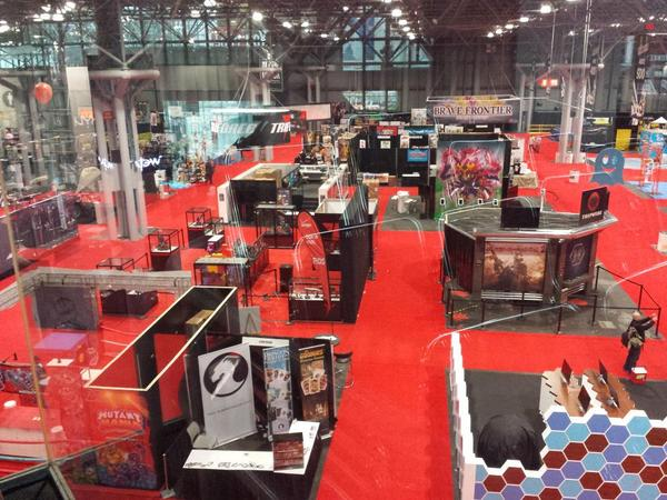 The calm before the storm. @NY_Comic_Con we are here! #NYCC http://t.co/EqO5nFD3TW