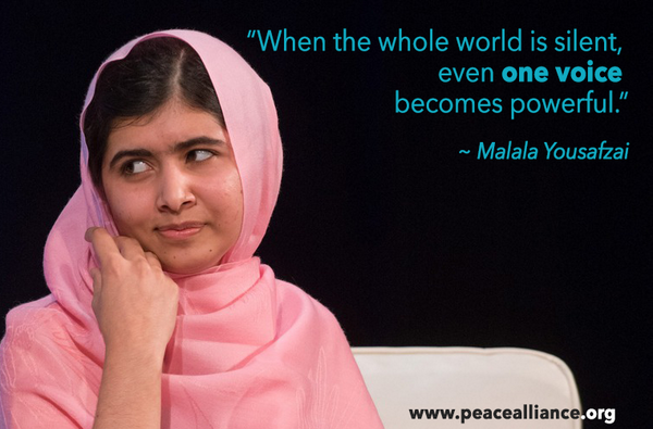 """thoughts on malala John ivison: heroic malala brings genuine emotion to parliament during extraordinary joint session as the father of a young girl, i admit to being one of the culprits, when speaker geoff regan thanked malala yousafzai's parents for """" sharing their only daughter with the world"""" share your thoughts."""