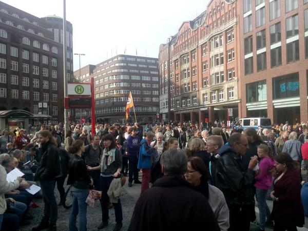 Anti-TTIP Demo in Hamburg