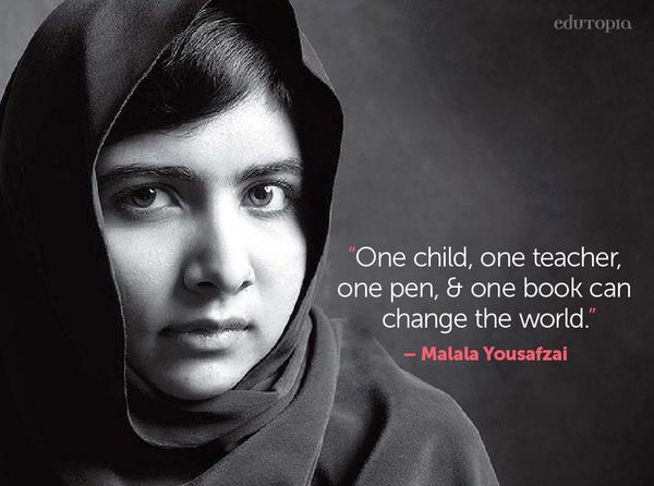 Inglés Cad Uned On Twitter Malala Premio Nobel De La Paz