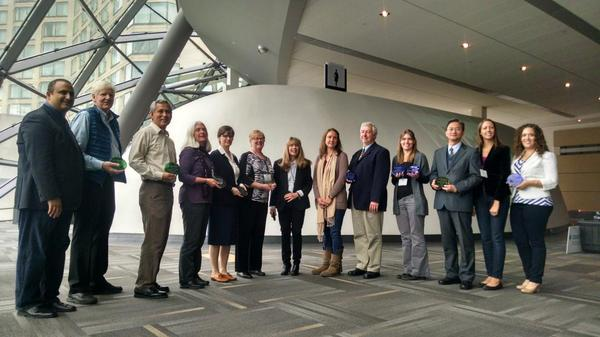 The 2014 NAAEE Award recipients!!  They are all FABULOUS!! #naaee2014 http://t.co/ENAl8oInbB