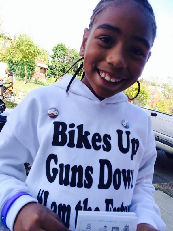 Bikes Up Guns Down quot Bikes up Guns Down event