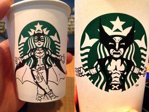 Geekify your Starbucks... http://t.co/qqPZCzb4O0