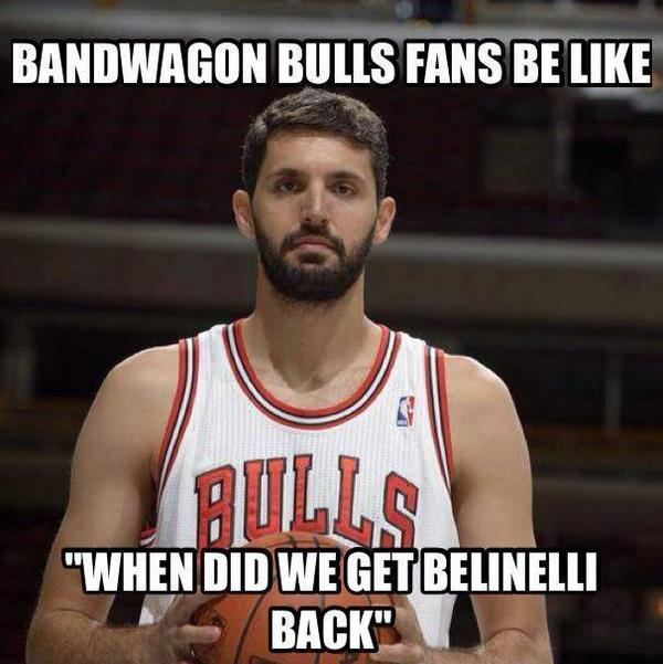 Bandwagon #Bulls fans be like... http://t.co/cCfckYJ4ts