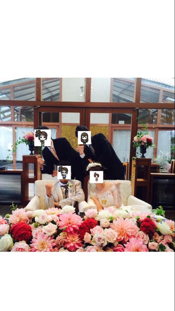 無事結婚式終える事ができました Twitterでのお祝い、数々の祝電ありがとうございました この場を借りてお礼申し上げます http://t.co/8iapTgfI5o