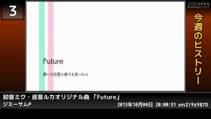 週刊VOCALOIDとUTAUランキング #366・308 [Vocaloid Weekly Ranking #366] BzuDTOICIAEqpsu