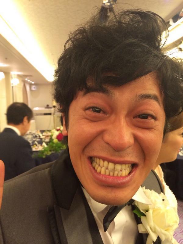 ちゅうえいおめでとう! そして。滝上お疲れさん〜!  本当にいい式でした。 http://t.co/dNK1XnMUVU