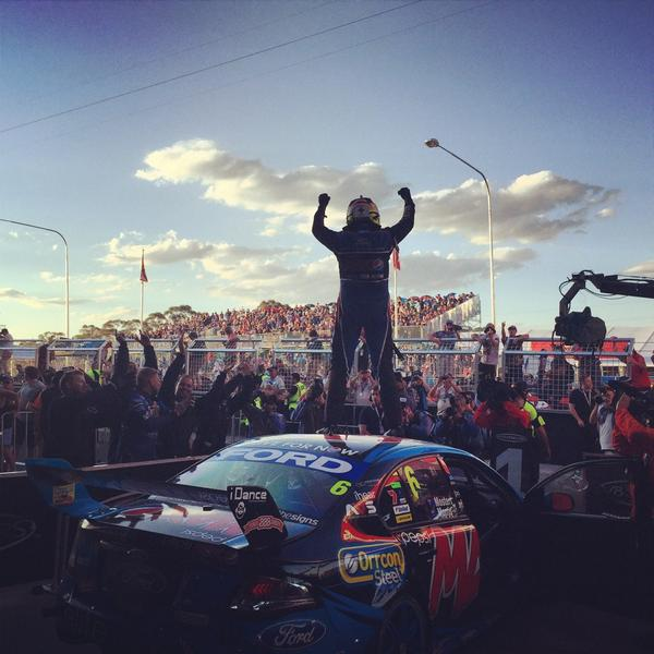 2014 King of the Mountain - Chaz Mostert and Paul Morris #v8sc #bathurst1000 http://t.co/xwRCjHmg0S