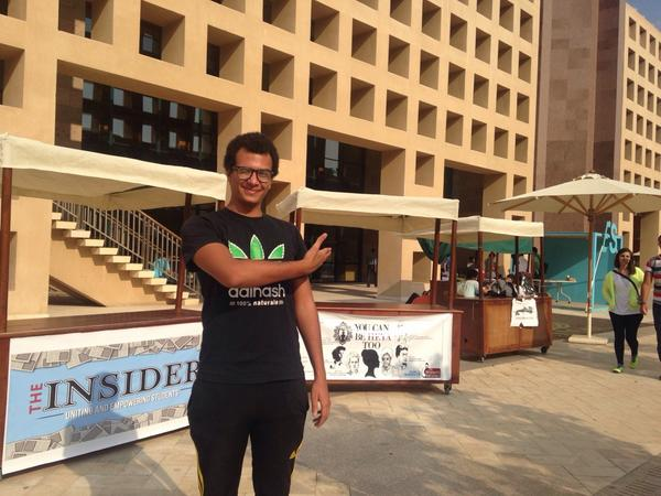 Bavly Wahib, FYE president, believes 'being part of a club gives a unique edge to AUC graduates' #JRMC2202 #JRLweb http://t.co/oStQY4KyCR