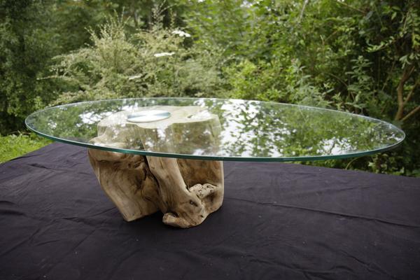 Bois au fil de l 39 eau on twitter une table basse compos e - Table basse bois et verre carree ...