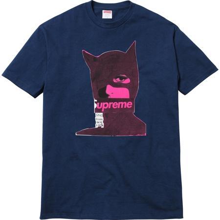 Supreme Cats tee ネイビーカラー Supreme Tシャツ史上最も人気のあるTシャツの一つ