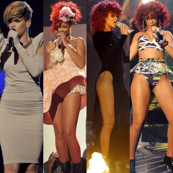 Rihanna UK XFactor Performances 2009-2012