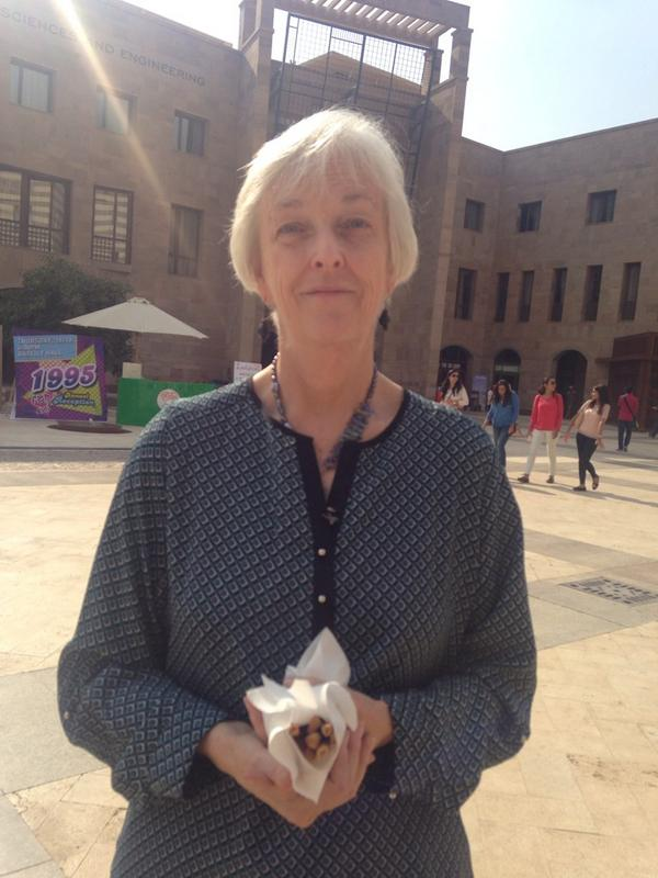 Jayme Spencer, a librarian, doesn't use online social media but thinks it's 'fantastic for youth'. #JRMC2202 #JRLweb http://t.co/pH32qhKs5w